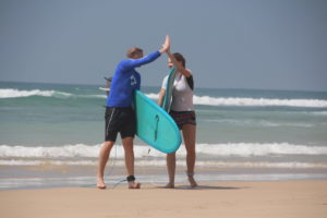 Surfing is awesome