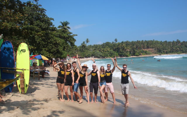Extreme Tribe in Sri Lanka in 2019 – surfing and working remotely