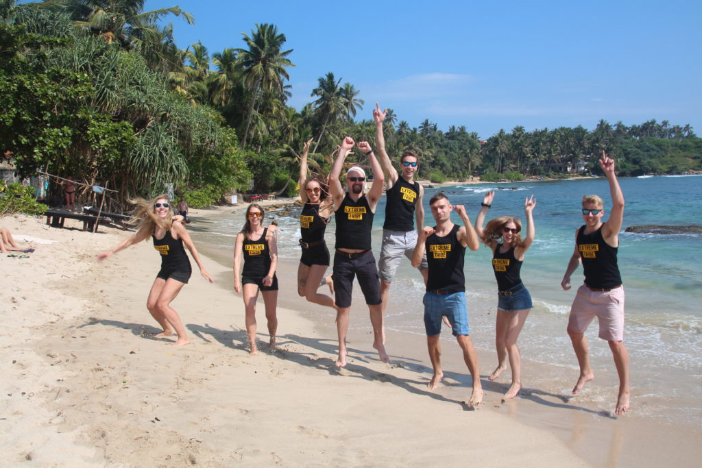 Extreme Tribe in Sri Lanka in February 2019