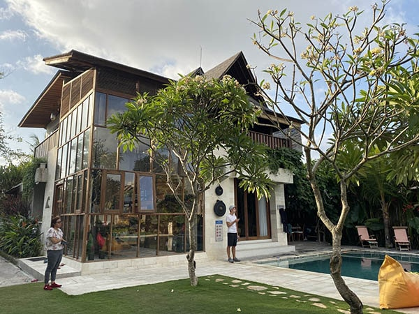 Coliving villa for digital nomads in Bali